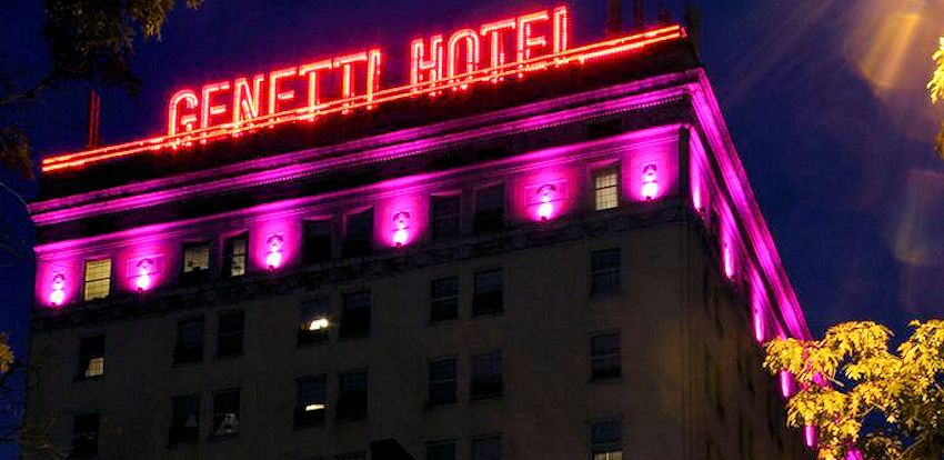 The Historic Genetti Hotel - Williamsport PA