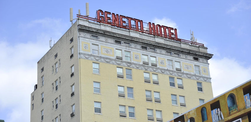 The Genetti Hotel, A Rich History