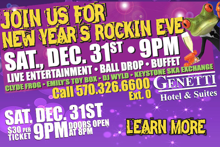 New Years Eve at The Genetti Hotel