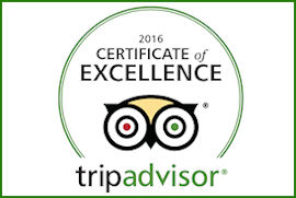 Genetti Hotel and Suites - 2016 Trip Advisor Certificate of Excellence
