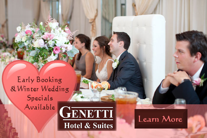 Wedding Specials from Genetti Hotel and Suites - Wedding Venue in Williamsport PA