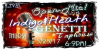 Open Mic Night with Indigo and Heath - 5-25-17 Genetti Taphouse