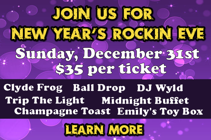 New Year's Rockin Eve at The Genetti Hotel and Suites in Williamsport PA