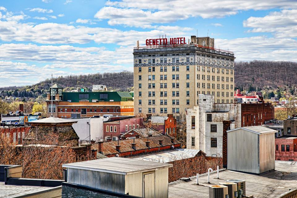 The Genetti Hotel and Suites - Historic Hotel in Williamsport PA